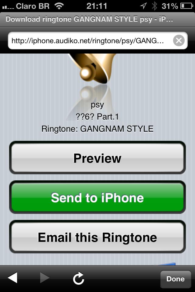 бесплатные рингтоны на мобильный телефон прослушать