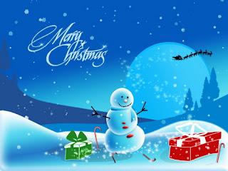 Gambar Ucapan Selamat Natal 2012