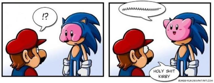 GAME PARODY: Sonic (cosplay)