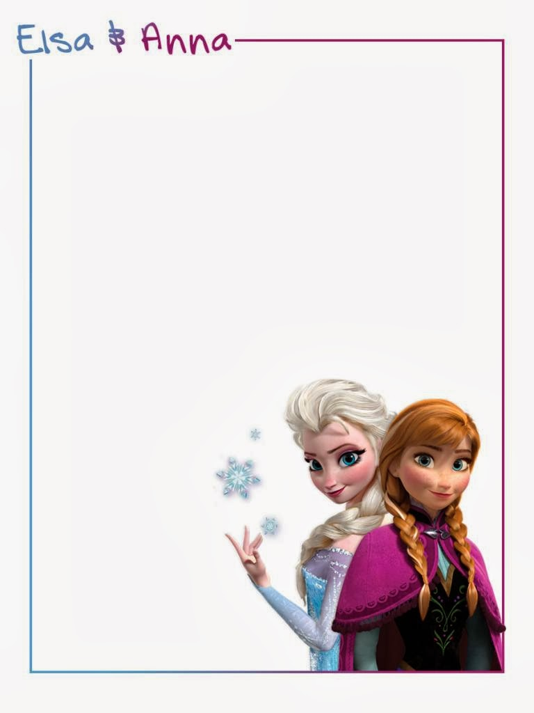 Frozen Party: Free Printables. | Is it for PARTIES? Is it FREE? Is it ...