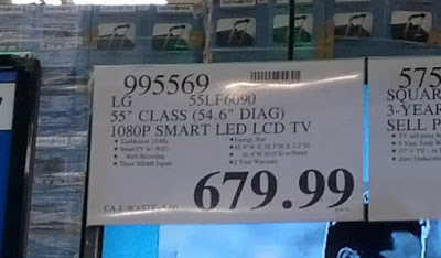 Deal for the LG 55LF6090 55-inch 1080p Smart LED LCD HDTV at Costco