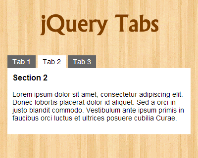 jquery tutorial with examples pdf