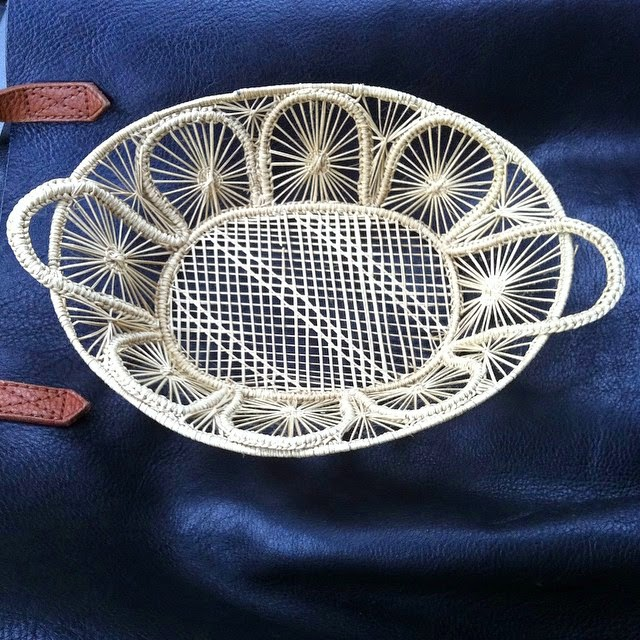 #thriftscorethursday Week 44 | Instagram user: hollygruszka shows off this Pretty Basket