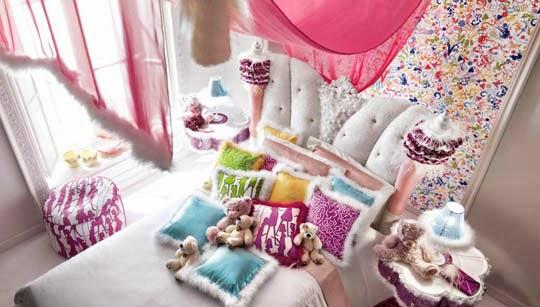 decoração quarto romântico