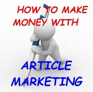 make money article marketing