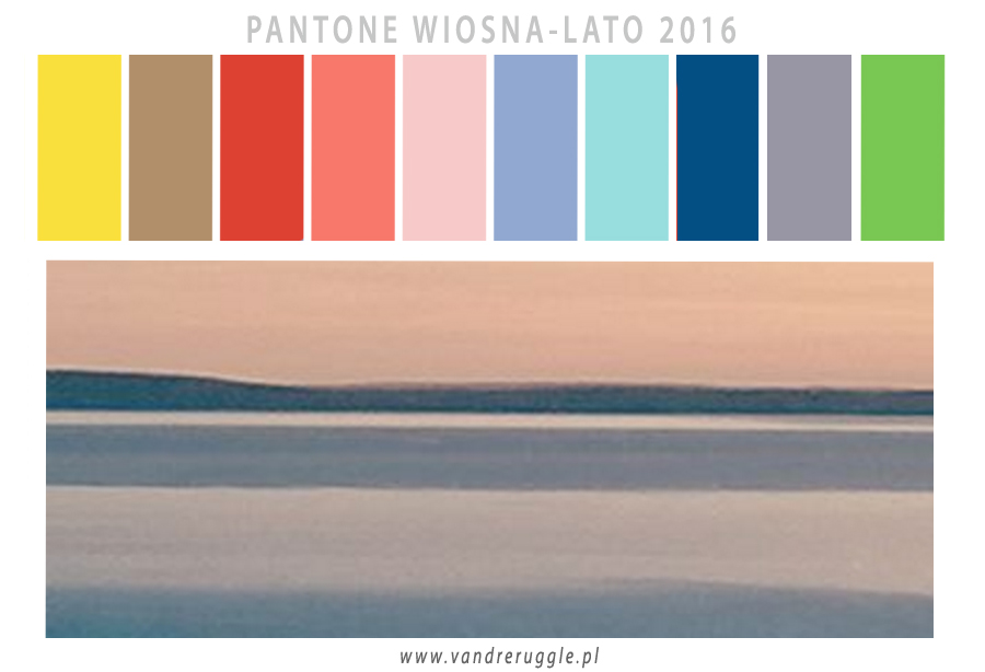 10 Kolorów Pantone na wiosnę-lato 2016