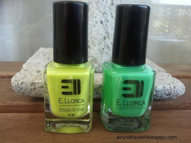 pintauñas verdes elisabeth llorca