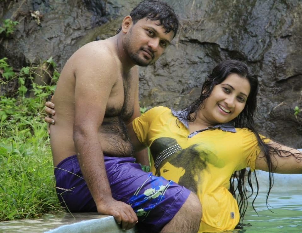 madhu nithyani wet with husband