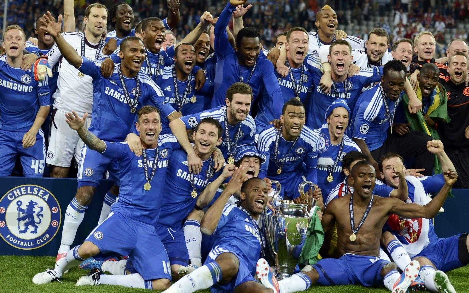 All Soccer Playerz HD Wallpapers: Chelsea FC New HD Wallpapers 2012