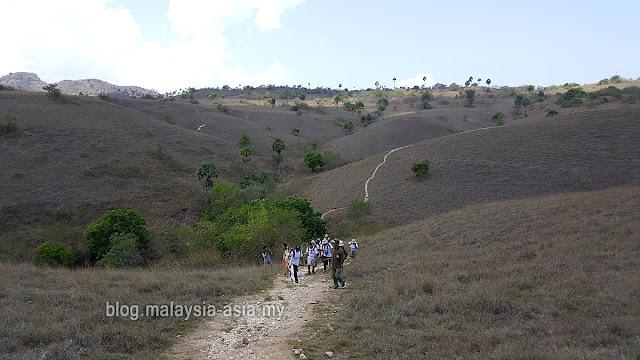 Rinca Island Trekking Hiking