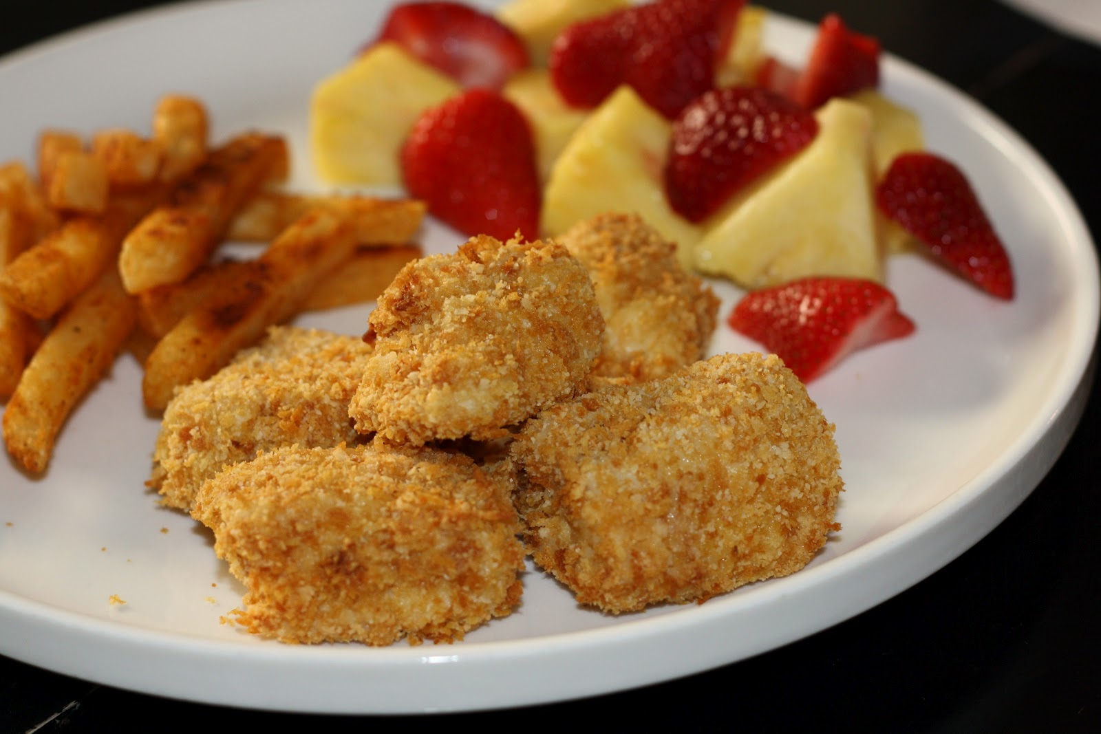 what's for dinner?: baked chicken nuggets... 30 minutes