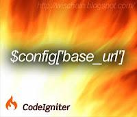 CodeIgniter Automatic base url (base_url Otomatis)