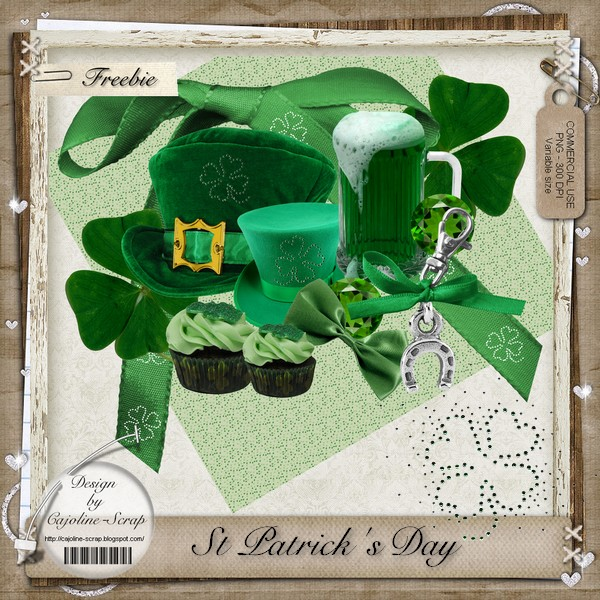 SAINT-PATRICK'S DAY - CU ELEMENTS Cajoline_saintpatrick_cu