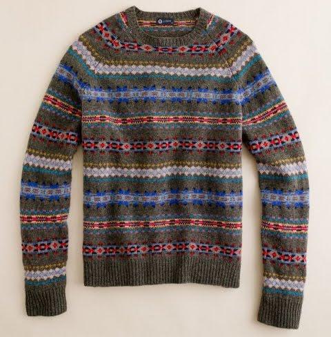 Grey Fox: Fair Isle knitwear - perfect for spring menswear
