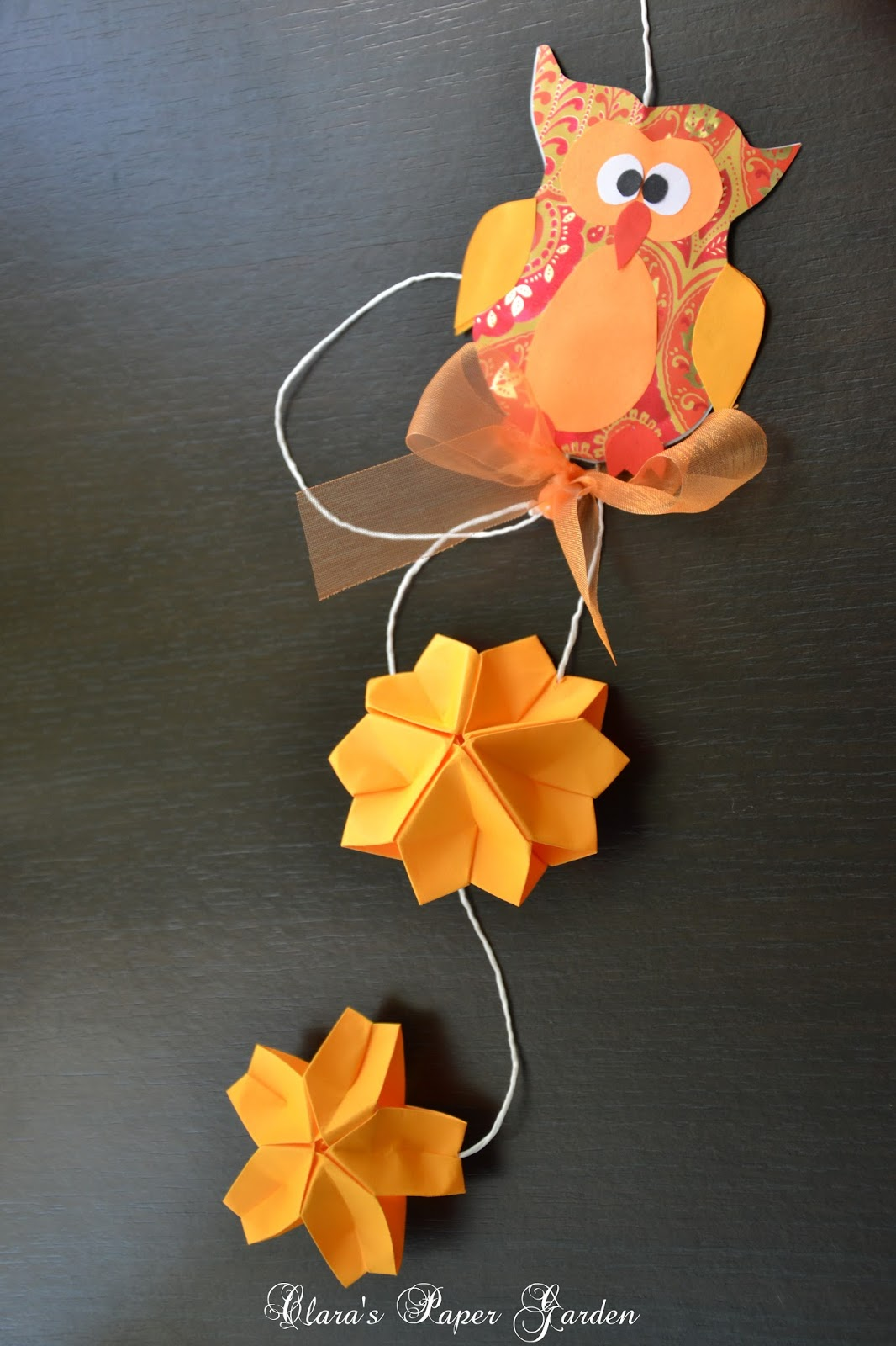 Clara's Paper Garden: Autumn