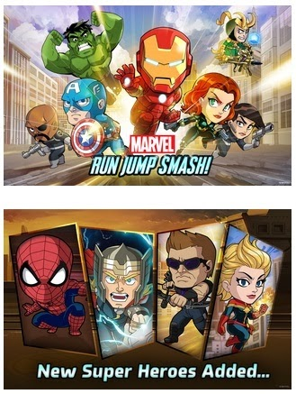 Marvel Run Jump Smash,APK
