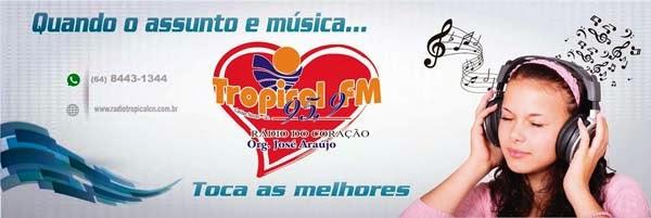 TROPICAL FM PARCEIRA DA NOTÍCIA