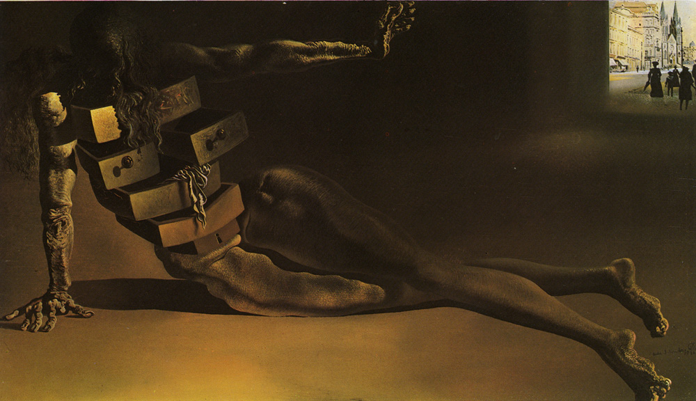 Reality Bites: Bite 116: Salvador Dali - Anthropomorphic Chest of ...