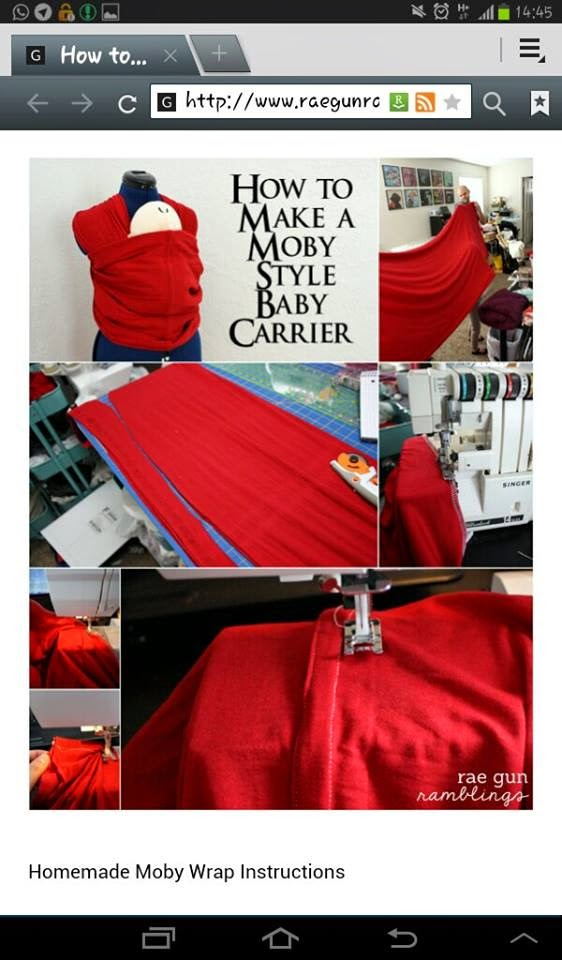 DIY baby wrap 2