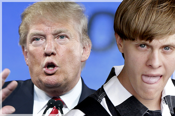 Birds of a Feather: Donald Trump and racist mass murderer Dylann Roof