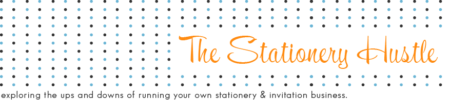 {The Stationery Hustle} life in the paper lane