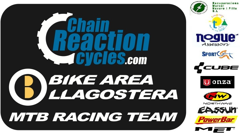 CHAIN REACTION CYCLES-BIKE AREA LLAGOSTERA MTB RACING TEAM