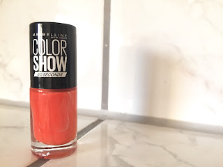 Maybelline Colorshow Limited Collection Sweet Spicy Tangerine Tango