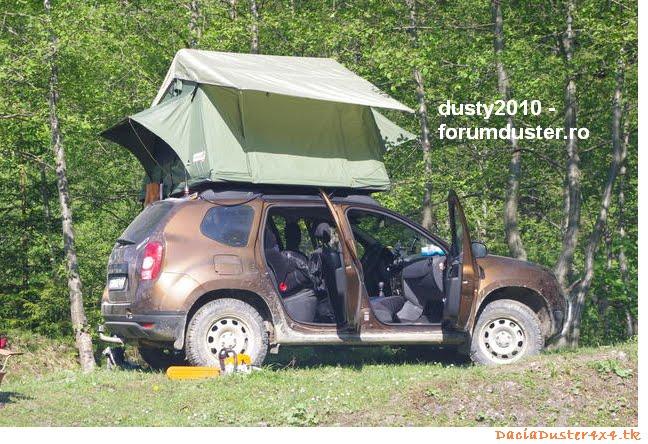 Camper Dormir Web Dacia Duster 4x4