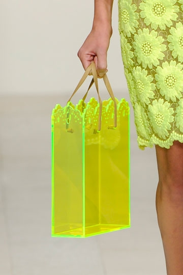 Neon Transparent Bag