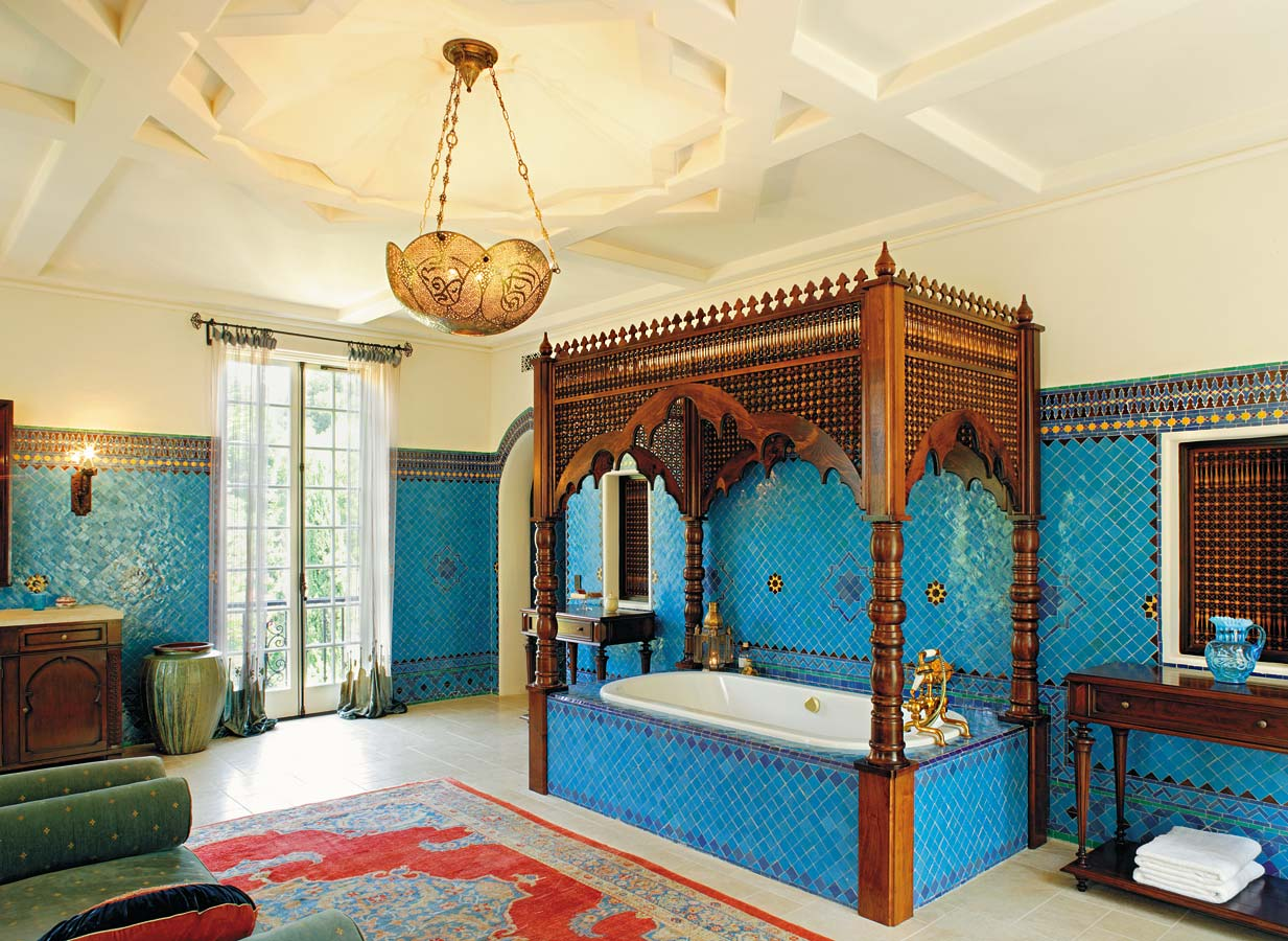 To da loos moroccan dreams blue bathroom - Adorable moroccan decor style ...