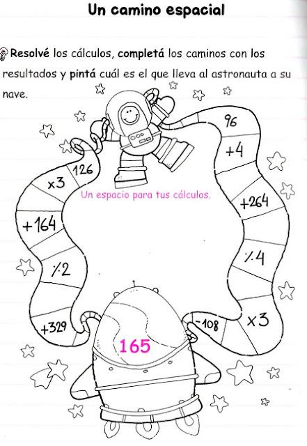 actividades de matemáticas para tercer grado