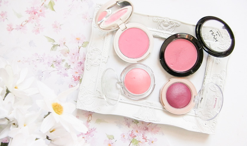 cream blushes review blog