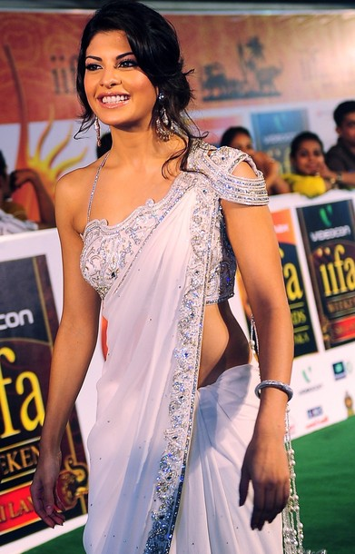 Sri Lankan-born Bollywood actress Jacqueline Fernandez arrives at the International Indian Film Academy (IIFA) awards in Colombo on June 5, 2010. Bollywood actors arrived in Sri Lanka to attend the three-day International Indian Film Academy (IIFA) awards and surrounding events that begun in Colombo on June 3. AFP PHOTO/ Lakruwan WANNIARACHCHI. (Photo credit should read LAKRUWAN WANNIARACHCHI/AFP/Getty Images)