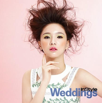 Jei Fiestar - InStyle Weddings Magazine April Issue 2014