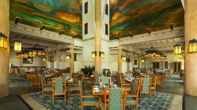 Restaurante Artist Point na Disney em Orlando