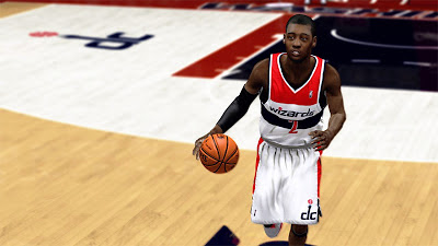NBA 2K13 John Wall Player Update