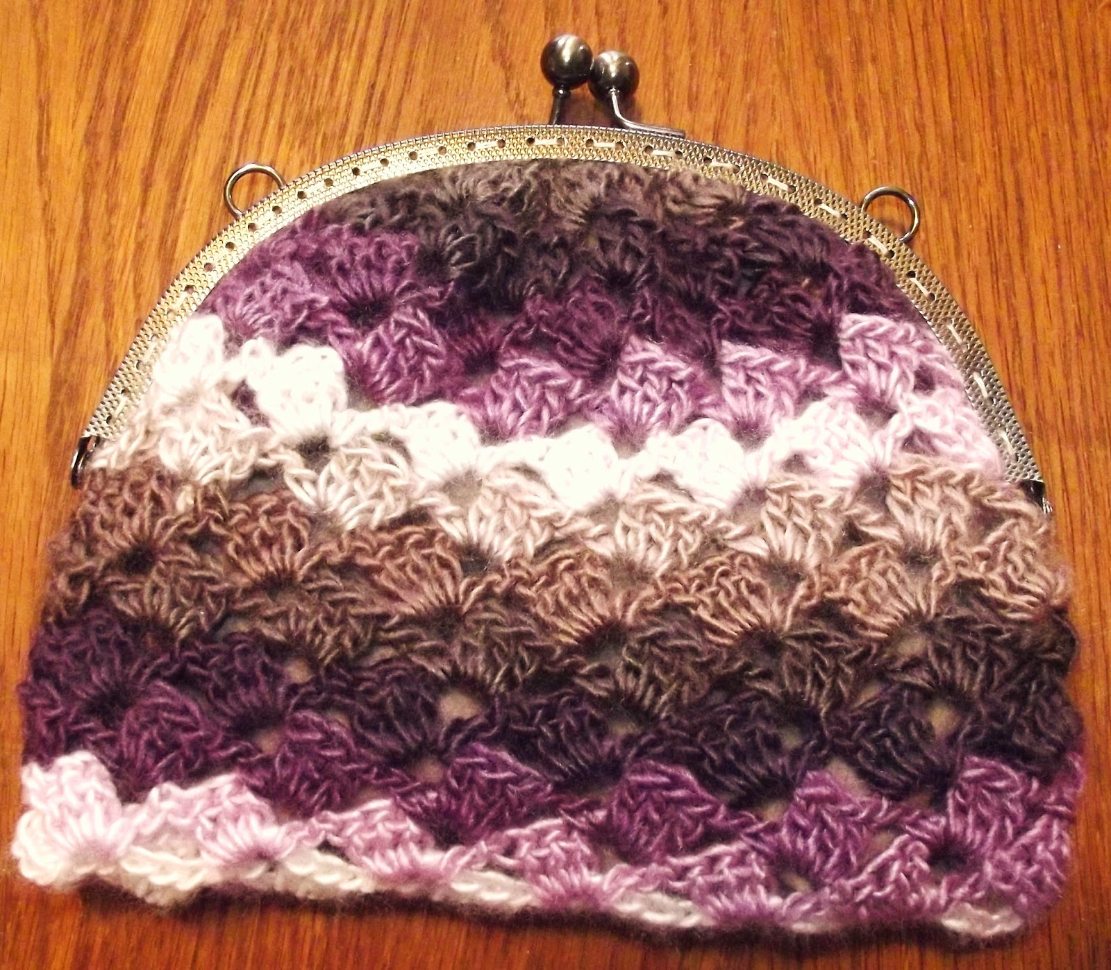 Crochet Fancy Bags : fancy crochet bag tutorial you will need a crocheted