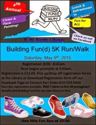 5-9 5K Run/Walk S.W Smith Library