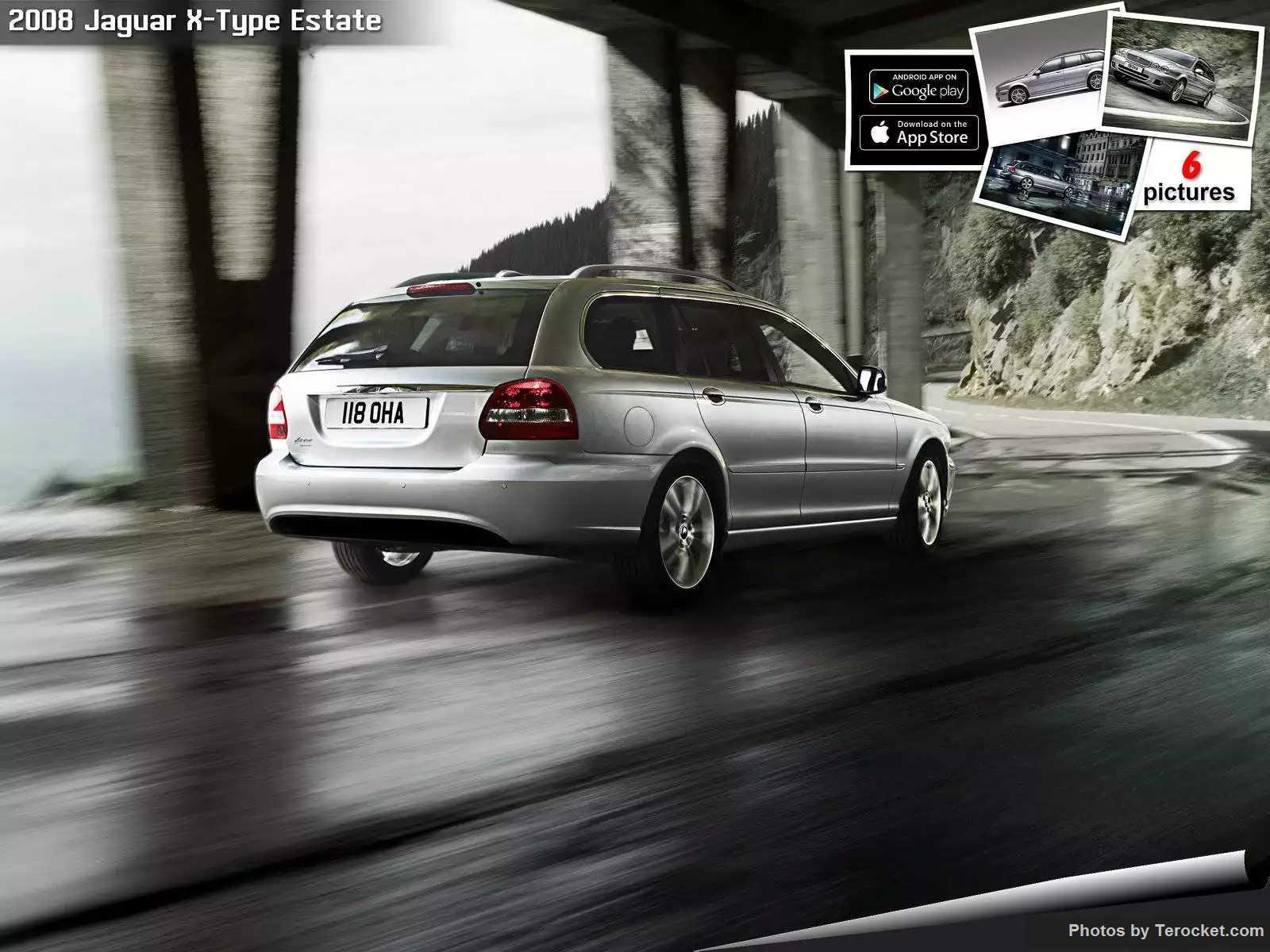 Hình ảnh xe ô tô Jaguar X-Type Estate 2008 & nội ngoại thất