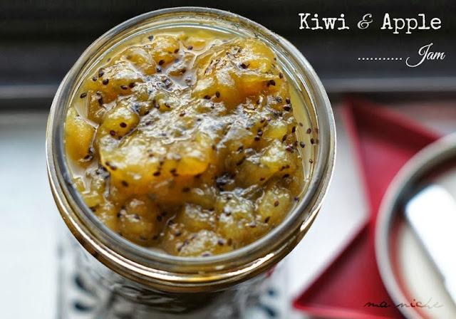 kiwi and apple jam