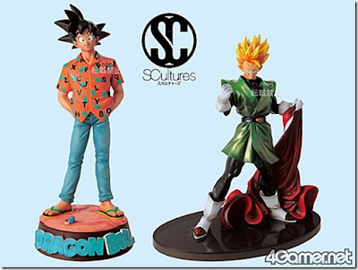 Dragonball SCultures Son Goku and Son Gohan