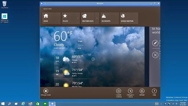 "Fitur Baru Windows 10 berada di dalam ""window"""