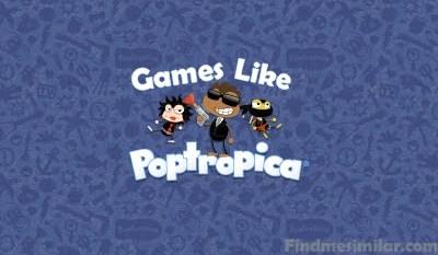 Games Like Poptropica, Poptropica