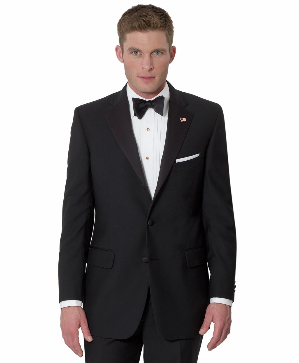 Three-Button Tuxedo JacketThree-Button Tuxedo Jacket ...