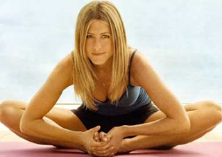 Jennifer Aniston Working out