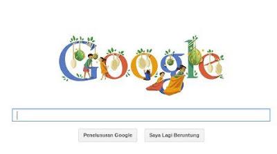 revolusiilmiah.com - Balap Karung dan Makan Kerupuk pada Google Doodle