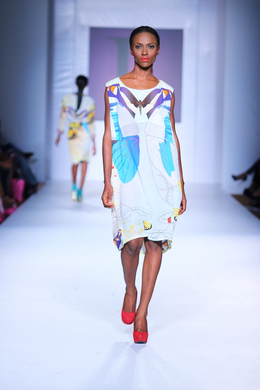 Mtn Lagos Fashion and Design Week 2012: Lanre Dasilva Ajayi  Nigerian dress style
