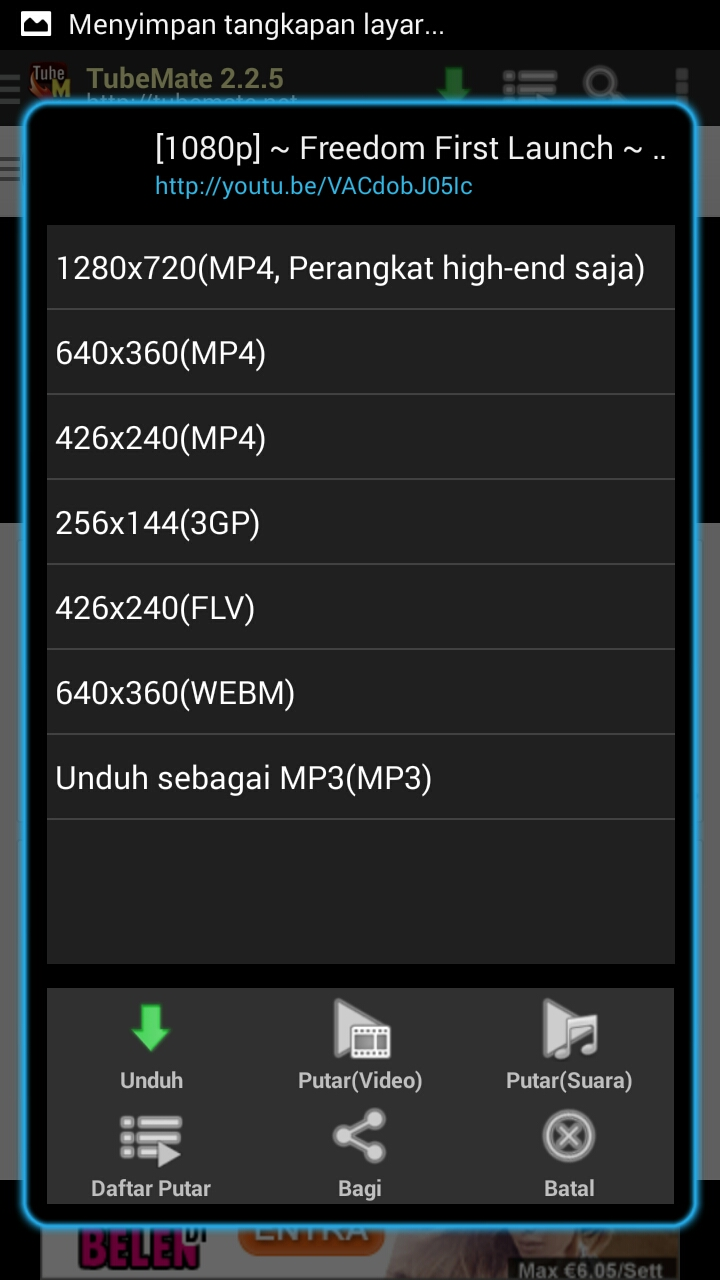 Cara Download Video Youtube Di Android Tanpa Repot