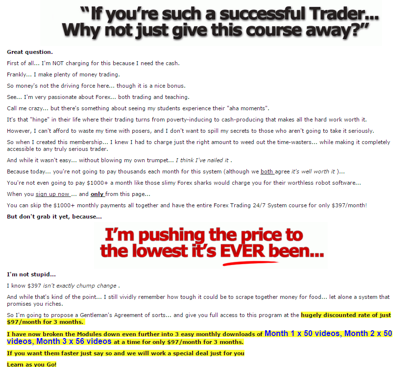 Best forex trading video course