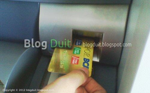 Gambar Ambil Kartu ATM BCA